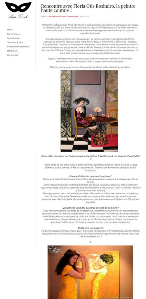 Blog Paris Frivole - 16 août 2013